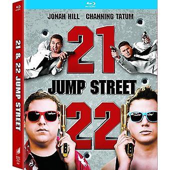 21 Jump Street / 22 Jump Street [Blu-ray] USA import
