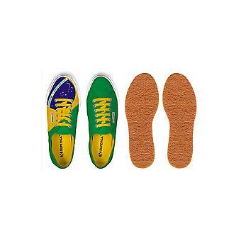 Superga 2750 COTU zapatillas bandera Brasil Unisex S007XA0
