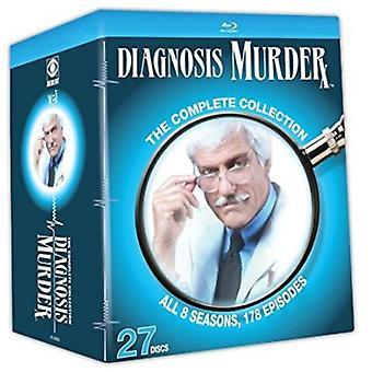 Diagnose mord: Den komplette samling [Blu-ray] USA import