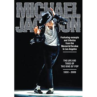 Michael Jackson - Life & Times of the King of Pop 1958-2009 [DVD] USA import