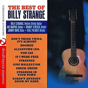 Billy Strange - importar de USA mejor de Billy extraño [CD]