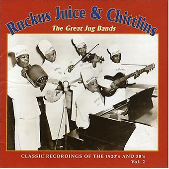 Ruckus Juice & Chitlins - Ruckus Juice & Chitlins: Vol. 2-stor kande Bands-Classic [CD] USA import