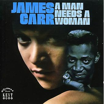 James Carr - Man Needs a Woman [CD] USA import
