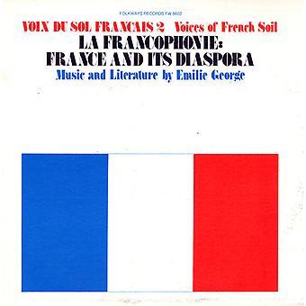 Emilie George - Emilie George: Vol. 2-Voix Du Sol Frantais: La Francophone: Franc [CD] USA import