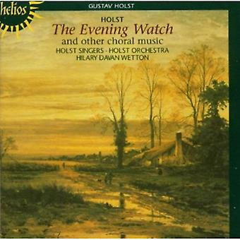 G. Holst - Gustav Holst: The Evening Watch and Other Choral Music [CD] USA import