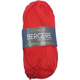 Berger De France Coton Satine Yarn-Rouge COTONSAT-35219