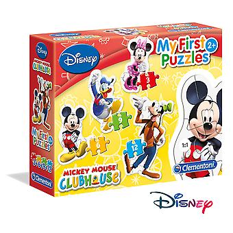Clementoni Mickey Puzzle Progresivo 3-6-9-12 (Toys , Preschool , Puzzles And Blocs)