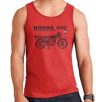 Haynes Owners Workshop Manual Honda 500 Men's Vest