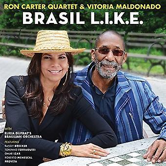 Meldonado, Vitoria / Carter, Ron Quartet - Brasil L. I. K. E. [CD] USA import
