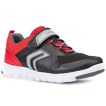 Geox Xunday Bungee Boys Riptape Trainers