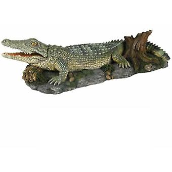 Trixie Crocodile with Air Outlet 26 Cm. (Fish , Decoration , Ornaments)