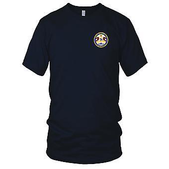 US Navy Cruiser Destroyer Force Atlantic Fleet gestickt Patch - Kinder T Shirt