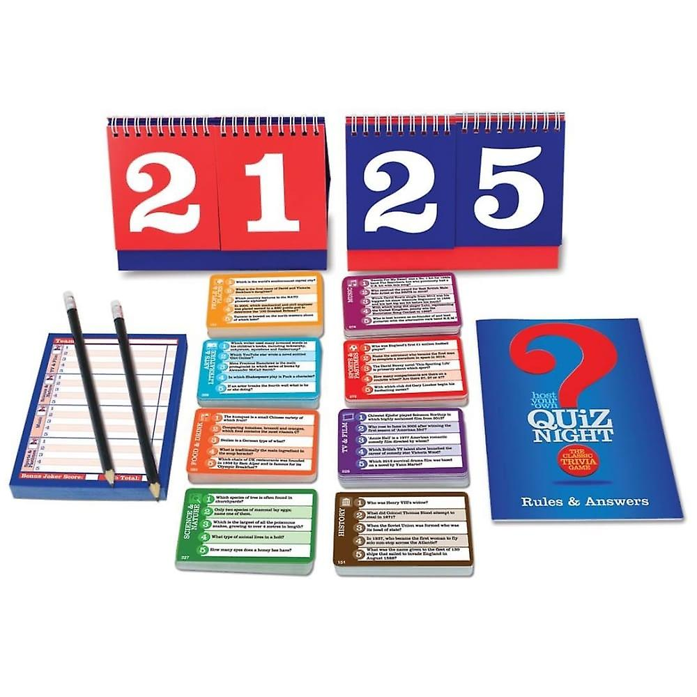 Cheatwell Games Host Your Own Quiz Night Trivia Game *