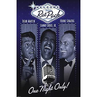 Rat Pack - una notte unica Poster Poster Print