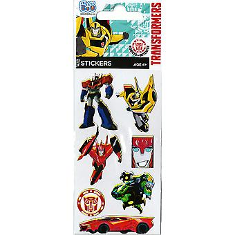 3 x Quality Sticker Sheets | TRANSFORMERS FOIL | Party Bags & Decoration