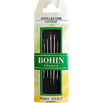 Bohin Leather Hand Needles-Assorted 6/Pkg 1141