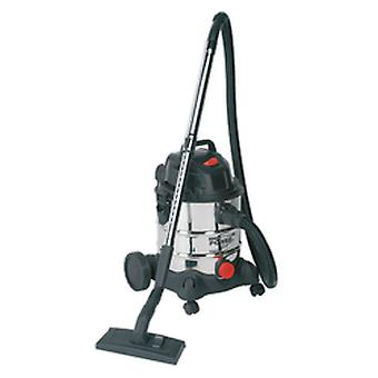 Sealey Pc200Sd Vacuum Cleaner Industrial Wet & Dry 20Ltr 1250W/230V Stainless