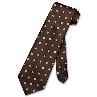 Vesuvio Napoli Krawatte w / Polka Dots Design Herren Krawatte