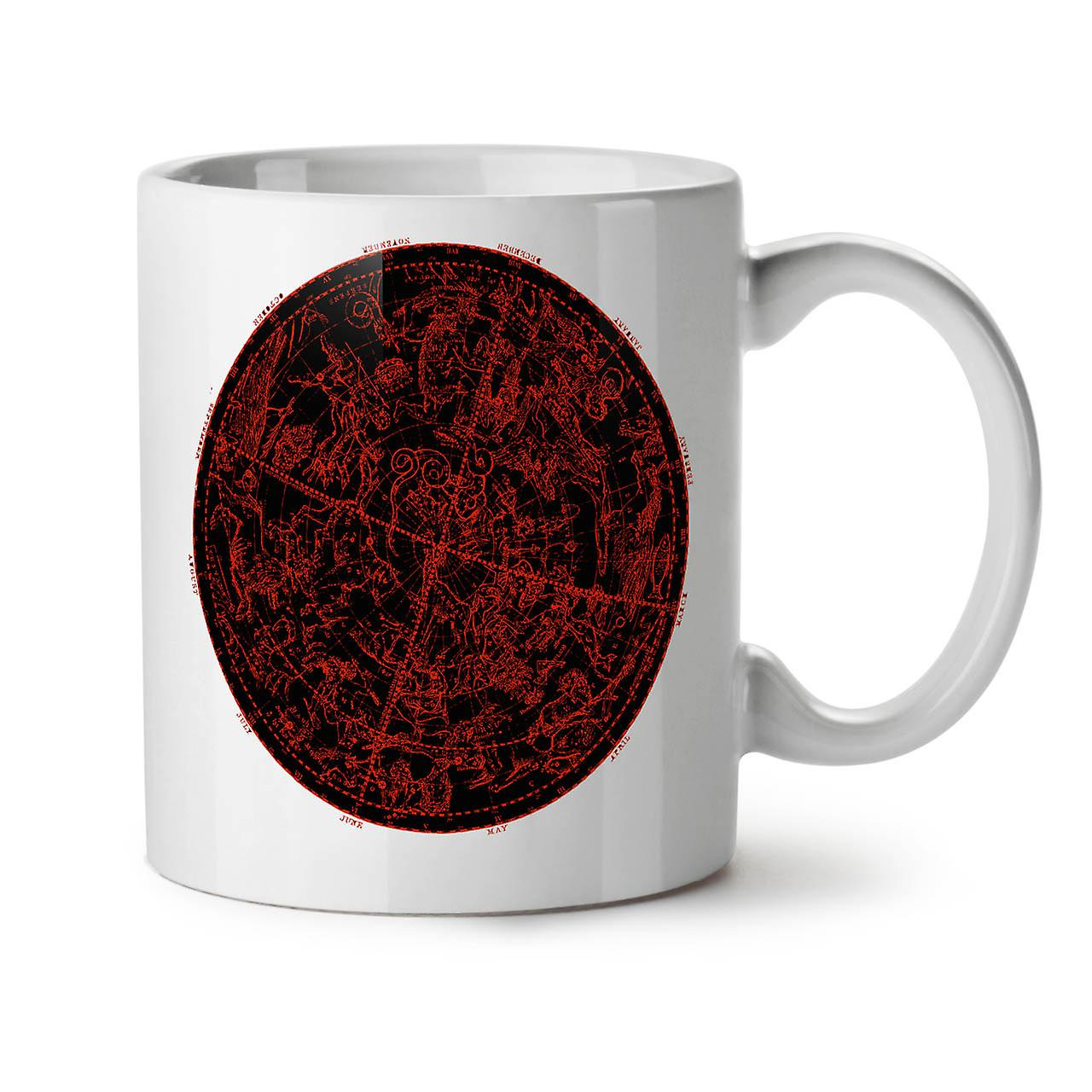 Ceramic 11 Circle Coffee Signs Stars Tea New Mug OzWellcoda White UzVSqpM