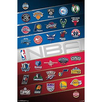NBA - logo 16 Poster Print przez