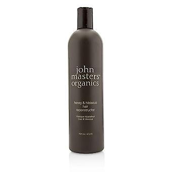 John Masters organiske honning og Hibiscus hår Reconstructor - 473ml / 16oz