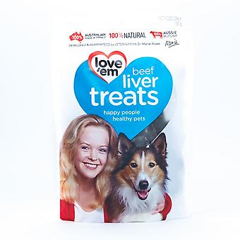 Love'em Beef Liver Treats 100gm