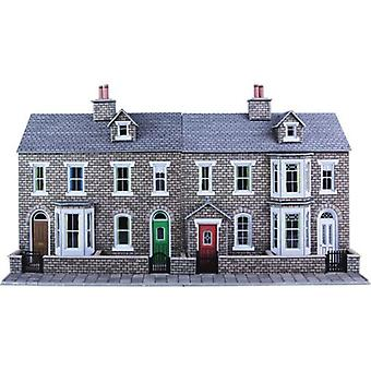 Metcalfe Models Po275 Oo Gauge Stone Terraced House Fronts