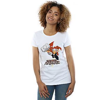 Полюбуйтесь женщин Тор могучий мститель футболку