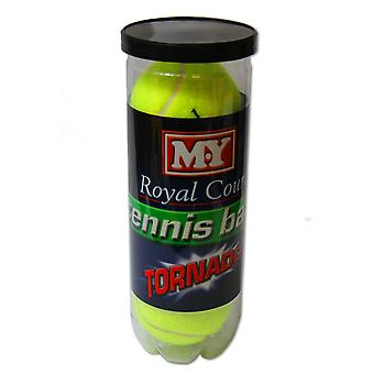 M.Y. Royal Court - 'A' Grade Tennis Balls - 3 Pack