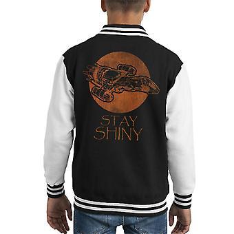 Firefly Stay Shiny Serenity Kid's Varsity Jacket