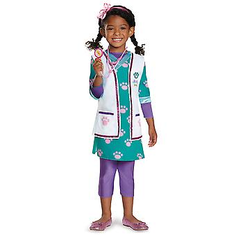 Médico veterinário de animais Disney Deluxe Doc McStuffins Hospital da criança traje das meninas