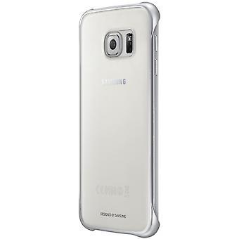 Samsung EF-QG920BSEGWW tydlig täcka Clip-On för Galaxy S6 silver
