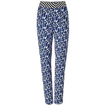 Ladies print trousers in the colorful animal print short size rick cardona