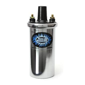 Pertronix 44001 Flame-Thrower III Chrome 45,000 Volt 0.32 ohm Coil