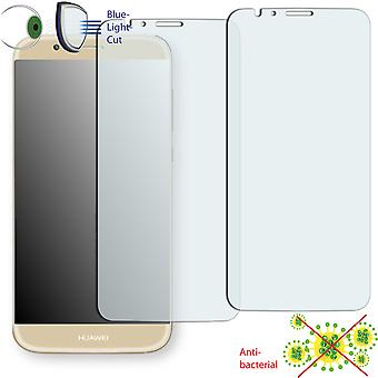 Huawei G8 display protector - Disagu ClearScreen protector (deliberately smaller than the display, as this is arched)