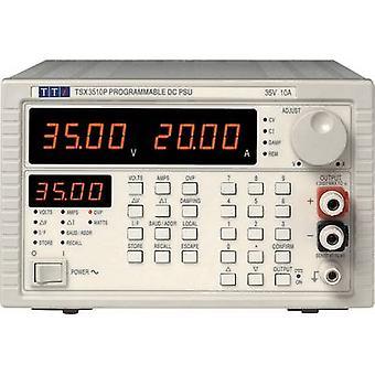 Aim TTi TSX 3510P Bench PSU (adjustable voltage) 0 - 35 Vdc 0 - 10 A 360 W No. of outputs 1 x
