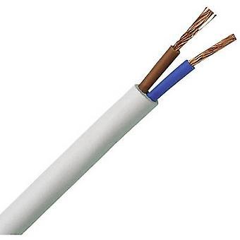 Kopp 151505841 Flexible cable H03VV-F 2 x 0.75 mm² White 5 m