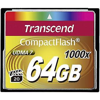 CompactFlash card 64 GB Transcend Ultimate 1000x