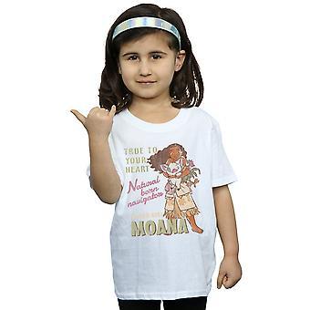 Disney Girls Moana Natural Born Navigator T-Shirt