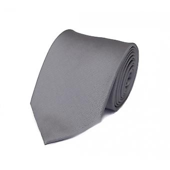 Cravatta cravatta cravatta cravatta 8cm argento grigio bene zebrato Fabio Farini