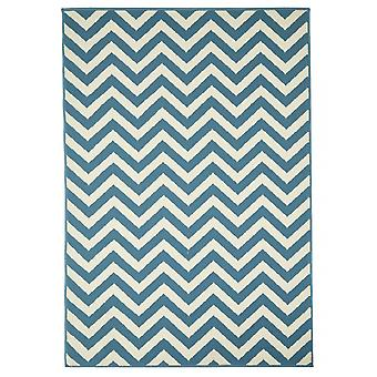 Outdoor carpet for Terrace / balcony light blue coastal living waves light blue 160 / 230 cm carpet indoor / outdoor - for indoors and outdoors