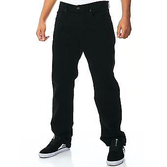 Element Black Rinse Rochester - Regular Straight Fit Jeans