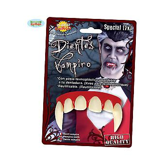 Halloween e horror vampiro denti