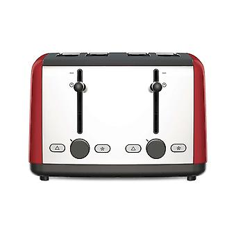 Kenwood TTM480.RD Red Scene 1800w 4 Slice Wide Toaster