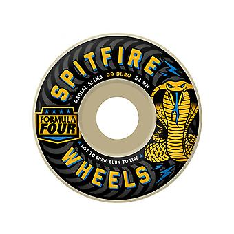 Spitfire Natural Radial Slims 99 - 53mm Skateboard Wheels