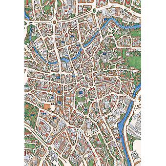 Norwich Street Map 1000 Piece Jigsaw Puzzle (jhg)