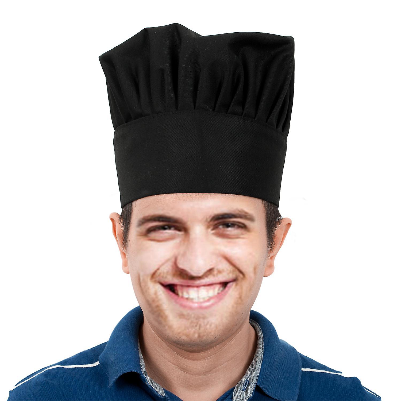 تريكسيس الفنية مطبخ الشيف قبعة سوداء