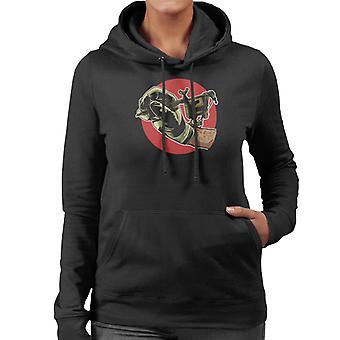 Tattoo Machine Women's Hooded Sweatshirt