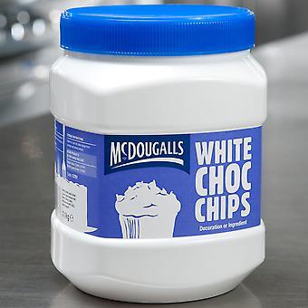 McDougalls weiße Schokolade-Chips