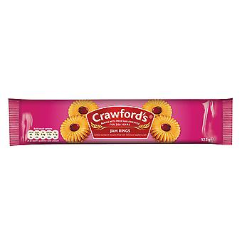 Crawfords Jam Ringe Kekse